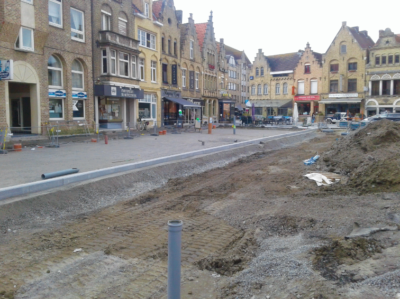 Opbouw Markt