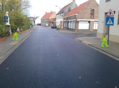 Lekedorpstraat afgewerkt