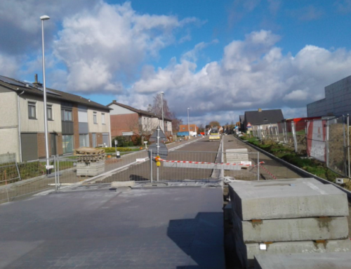 Eerste asfaltlaag tussen Pluim- en Grasstraat vanaf 20 februari