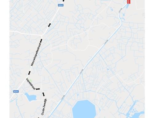 IJzerdijk afgesloten op 10 en/of 11 april tussen Hoge Brug en Knokkebrug