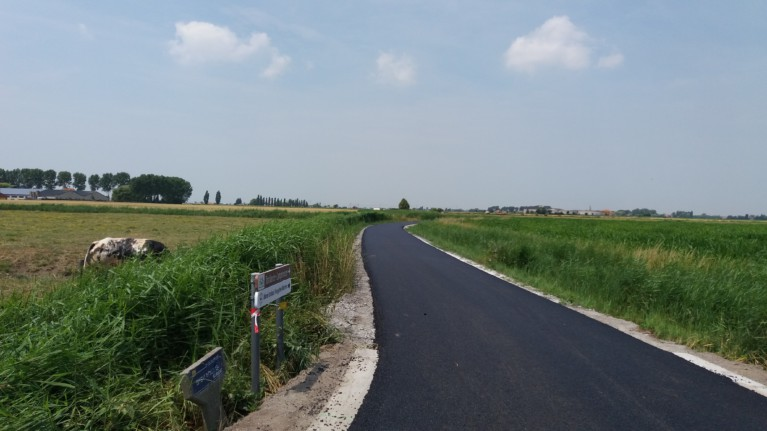 Bien Acquisstraat asfalt