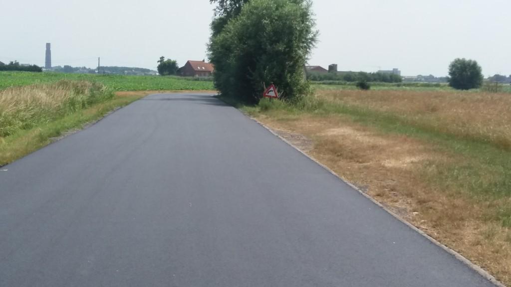 Viconiastraat asfalt