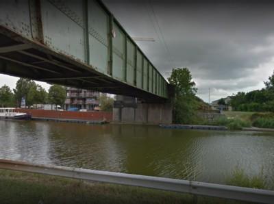 Spoorwegbrug IJzer